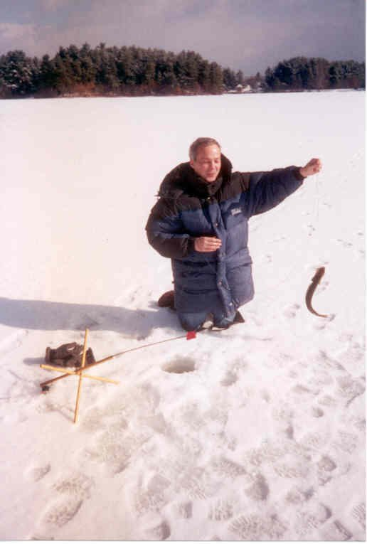 Picture of me ice fishing